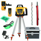 360° Automatic Self-Leveling Vertical Green Beam Rotary Laser Level 1.65M Tripod