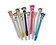 BestGrew 10pcs Doctor and Nurse Polymer Caly Ball Point Pens Cute Novelty Lov...