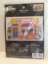 BUCILLA Cross Stitch Kit NEW 43403 Flower Shop