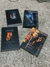 SIGNED Neil Gaiman Dave McKean Absolute Sandman Volumes 2 & 3 DELUXE w/sketch