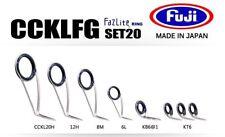FUJI Fazlite ring CCKLFG KB6 Casting Rod SET20 Guides SET