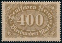 DR 1922, MiNr. 222 d, tadellos postfrisch, gepr. Infla, Mi. 90,-