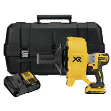 Dewalt Dcd200D1 20V Max Xr 2.0 Ah Li-Ion Brushless Drain Snake Kit New