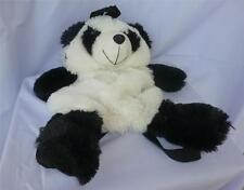 Child's Panda Faux Fur Black and White Back Pack...Adorable!