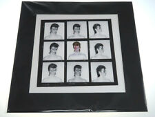 David Bowie Aladdin Sane Demi Contact Print Duffy (Mounted Black)