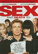 Sex and Death 101 (DVD, 2008) Winona Ryder, Simon Baker Patton Oswalt. New,