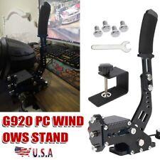 USB SIM Handbrake For Racing Games G920 FANATECOSW Compatible with PC black