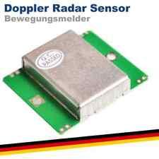 Doppler Radar Sensor Modul HB100 Arduino Raspberry Pi Bewegungsmelder Mikrowelle