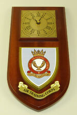 ATC AIR TRAINING CORPS CLASSIC HAND MADE TO ORDER  WALL CLOCK
