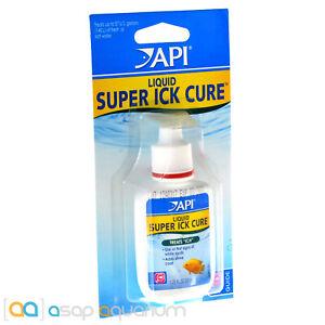 API Liquid Super Ick Cure 1.25oz (37mL) Fish Medication Teats ICH White Spots