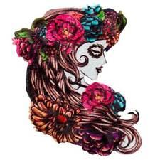 La Catrina capelli gioielli giorno dei morti per capelli maturi Dia de los Muertos velo