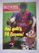 Orig.PRG   1.Bundesliga  1993/94   FC BAYERN MÜNCHEN - SC FREIBURG  !!