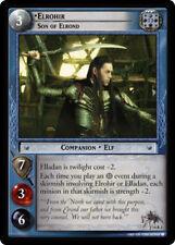LOTR TCG EME Expanded Middle Earth ELROHIR  SON OF ELROND 14R3 a Top Shelf Card