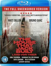 House That Jack Built Blu-ray 2018 Serial Killer Horror Movie Uncensored Uncut