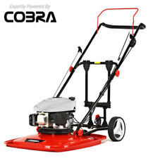 Cobra AirMow 51 Petrol Hover Lawnmower.3 in 1 Wheel Kit.Cobra DG350 Engine.Flymo