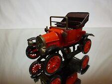 ZISS MODELL OPEL TORPEDO 1908 KARMANN KAROSSERIE - RED + BLACK L8.5cm - GOOD