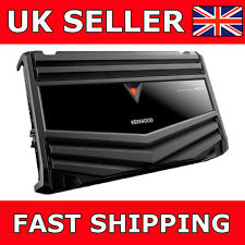 KENWOOD KAC-7406 800 WATT 4CHANNEL CAR VAN BRIDGEABLE POWER SPEAKER AMPLIFIER