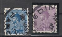 AQ5445/ NEW ZEALAND – SG # 466 / 467 COMPLETE USED – CV 350 $