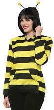 Bee Wear - Bee Hoodie With Antennae Adult Costume