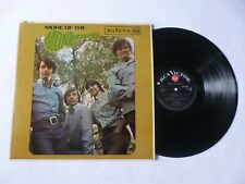 THE MONKEES ~ MORE OF THE.. ~ EX+/EX+ ~ 1967 UK 1ST PRESS MONO POP/BEAT VINYL LP