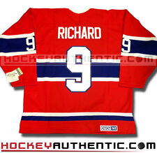 MAURICE RICHARD MONTREAL CANADIENS 1959 JERSEY CCM VINTAGE RED