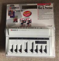 AMBICO Split Screen Audio/Video Mixer & Processor V-6321 New Old Stock