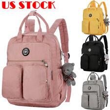 Hot Backpack Women Canvas Travel Bookbags School Bags For Teenage Girls Cute UK