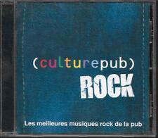 CD COMPIL 21 TITRES--CULTURE PUB ROCK--REDDING/JAMES/BASHUNG/BLONDIE/KNOPFLER/