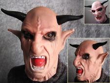 TEUFEL, DEVIL, DIABOLO, MEPHISTO, CERNUNNOS, BAPHOMET Latex Mask FX Horror Maske