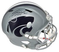 JORDY NELSON AUTOGRAPHED SIGNED KANSAS STATE WILDCATS FULL SIZE SPEED HELMET BAS