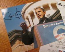 Barack Obama Signed 8x10 Photo 2007 PSA/DNA Authentic Signature RARE Item