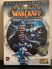 World of Warcraft: Wrath of the Lich King expansion new sealed pc game dvd  CG7