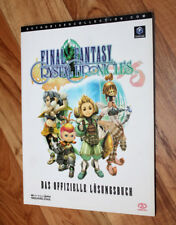 Final Fantasy Crystal Chronicles Gamecube Lösungsbuch Buch Spieleberater Guide