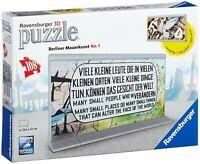 Ravensburger 12571 Berliner Mauerkunst No.1 3D Puzzle Bauwerke 108 Teile Mauer