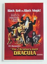 7 Brothers Meet Dracula Fridge Magnet (2 x 3 inches) movie poster kung fu