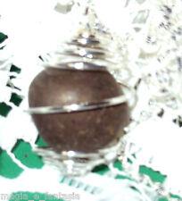 Collana con PIRITE cristalloterapia zen chakra minerali argento pietre unisex