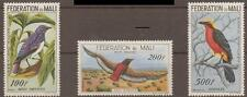 MALI SG10/2 1960 BIRDS AIR STAMPS MOUNTED MINT