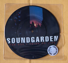 """Soundgarden THE DAY I TRIED.. 7"""" picture disc vinyl limited ed Seattle Nirvana"""
