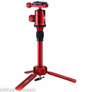 Sirui 3T35 Red Table Top Tripod Kit with Ball Head -> Free US Shipping!