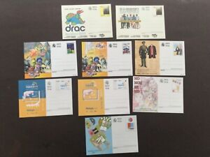 Lote tarjetas postales España