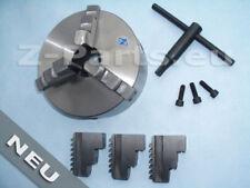 3-Backenfutter 160 mm, Drehbankfutter, 3-Loch-Aufnahme zylindrisch NEU