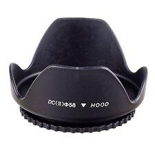 58mm Lens Hood for Canon T6i T5i EF 50mm f/1.4 USM EF-S 18-55mm f/3.5-5.6 IS II