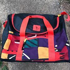 RARE Vtg 90s Salomon Ski Bag Gear Pack Duffel Bag OG Hip Hop *LOUD* Swag FRANCE
