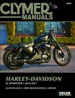 Harley-Davidson XL883 883 xl1200 1200 Sportster 2014 - 2017 Clymer Manual M256