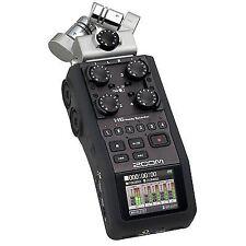 Zoom H6 Portable Handy Audio Recorder