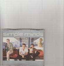 Simple Minds- War Babies UK promo cd single