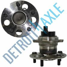 Set of (2) New REAR Wheel Hub and Bearing Assembly for Toyota RAV4 FWD w/ ABS