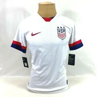 Nike Mens 2019 USA Stadium Home Soccer Jersey White AJ4356-100 S New