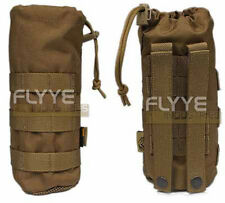 FLYYE MOLLE Water Bottle Canteen Pouch – Coyote Brown CB