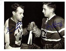 Gordie Howe and Jean Beliveau meeting at Nhl All-Star Game - very Rare!
